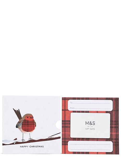 Christmas Robin Gift Card