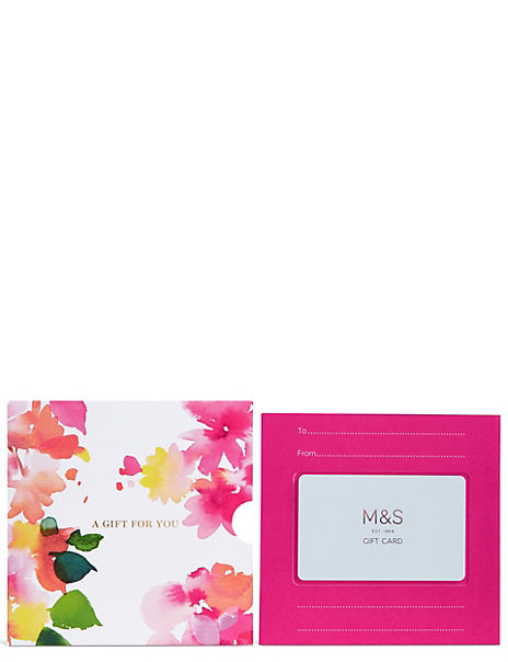 Gift for You Floral Gift Card