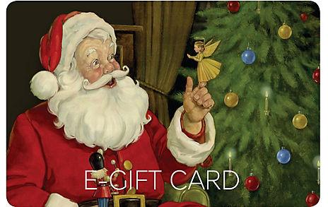 Santa E-Gift Card