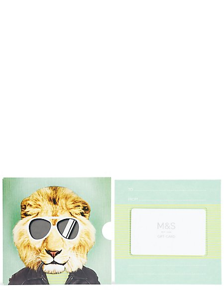 Lion Gift Card
