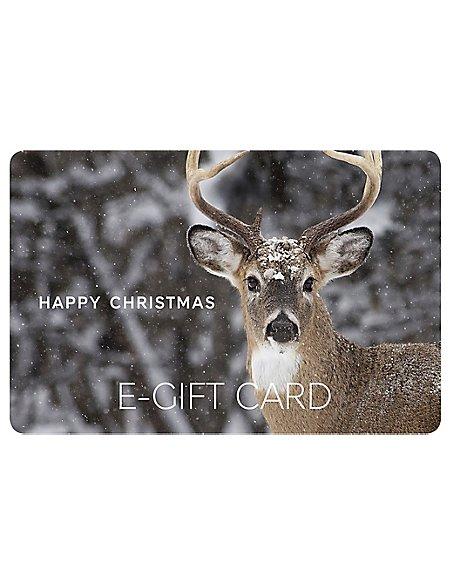 Christmas Stag E-Gift Card