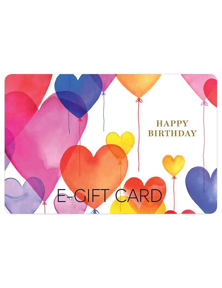 Birthday Balloons E Gift Card