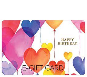Birthday Balloons E-Gift Card