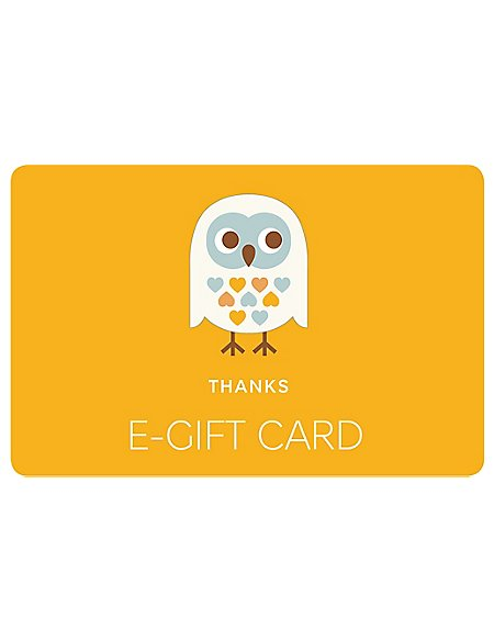 Thank You Owl E-Gift Card