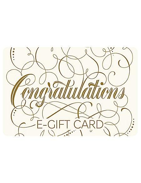 Congratulations Script E-Gift Card