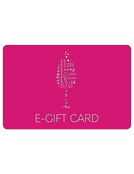 Glass of Fizz E-Gift Card