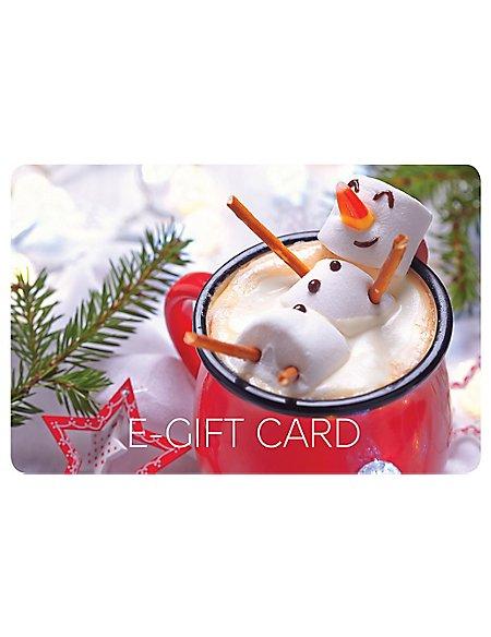Snowman E-Gift Card