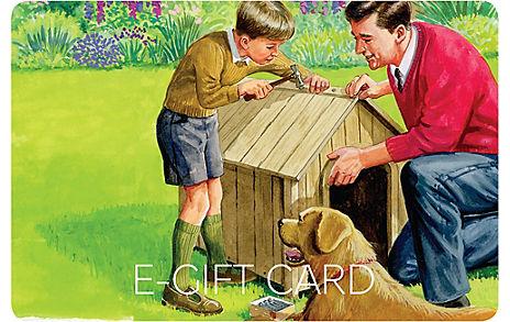 Retro DIY E-Gift Card
