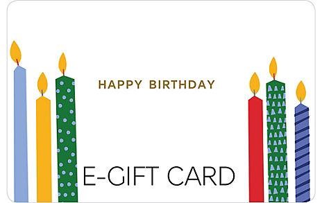 Birthday Candles E-Gift Card