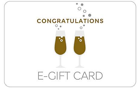 Congratulations E-Gift Card