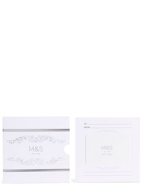 M&S Silver Gift Card