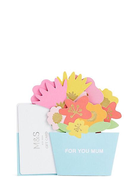 Mum Pop Up Gift Card