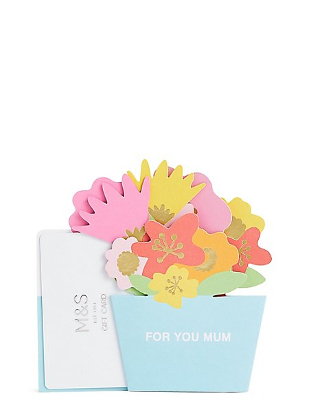 Mum Pop Up Gift Card