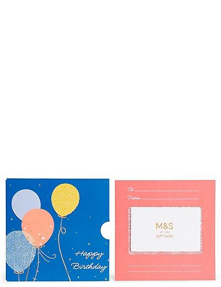 Balloons Gift Card