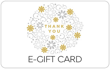 Thank You Gold Flowers E-Gift Card