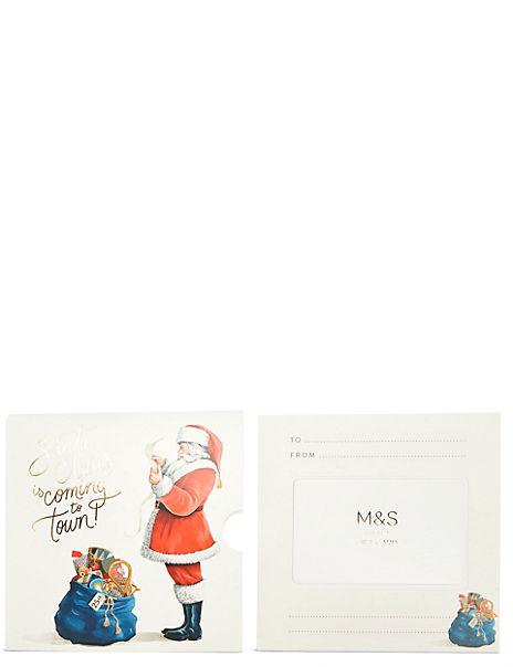 Santa's in Town Gift Card