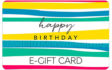 Just for You Stripes E-Gift Card