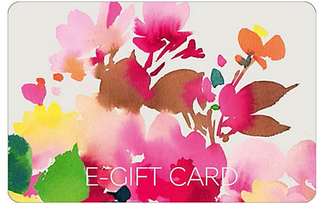 New Watercolour Floral E-Gift Card