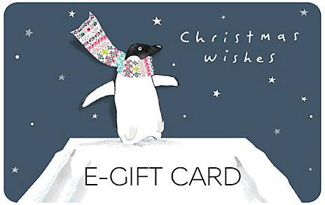 Penguin in Scarf E-Gift Card