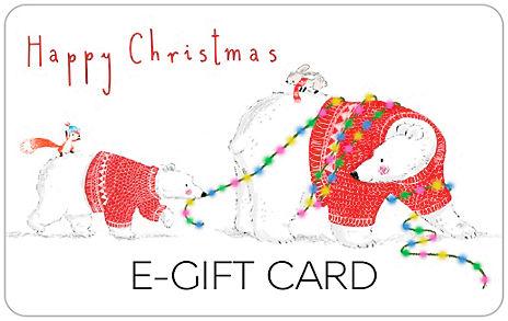 Polar Bear in Lights E-Gift Card