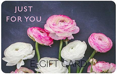Navy Floral Photo E-Gift Card