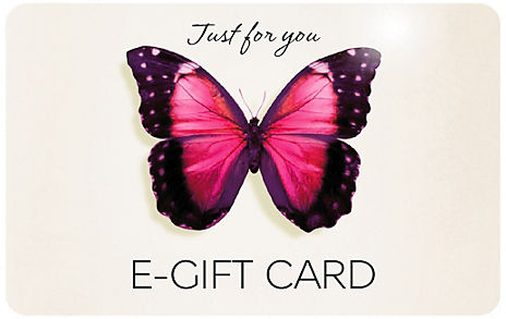 Pink Butterfly E-Gift Card