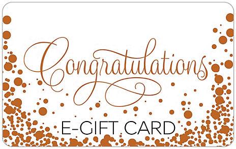 Congrats Bubbles E-Gift Card