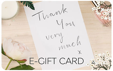 Thank You Note E-Gift Card