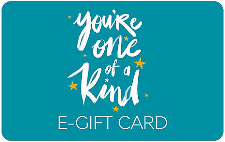 One of a Kind Text E-Gift Card
