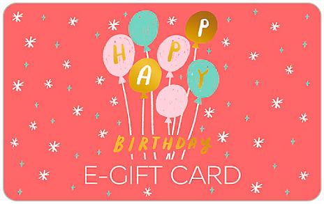 Pastel Balloons E-Gift Card