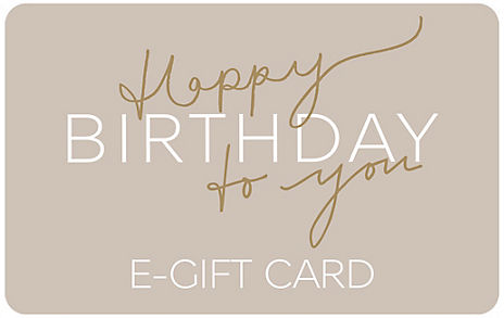 Birthday Script New E-Gift Card