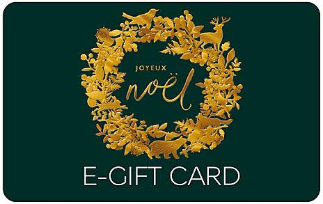 Laser Cut Wreath E-Gift Card