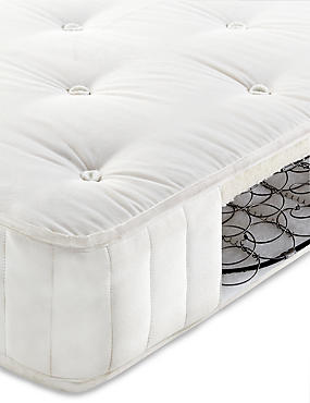 Essential Natural 325 Cotton Open Coil Mattress