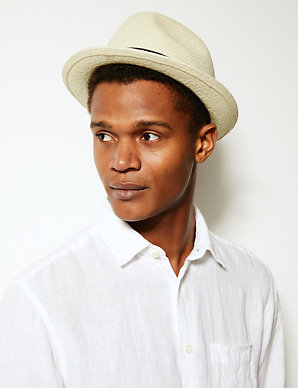 Panama Hat Made by Christys' | M&S Collection | M&S