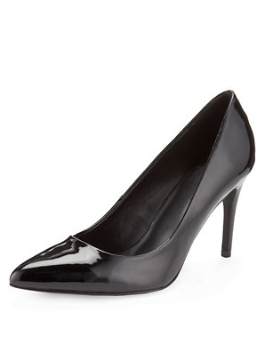 82c089fe6f5 Patent Pointed Toe Court Shoes with Insolia®