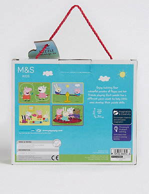 Peppa Pig™ 4 in 1 Puzzle | M&S