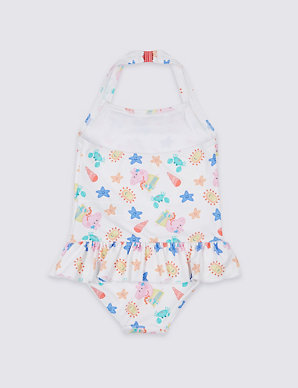 1b236a3b232 Peppa Pig™ Swimsuit with Sun Safe UPF50+ (3 Months - 7 Years)   M&S