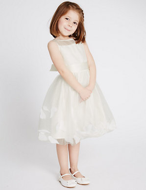 f47b14e2b47 Petal Hem Dress (1-14 Years)