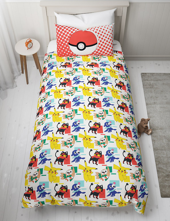 Pokemon Reversible Bedding Set M S, Pokemon Bedding Queen Size