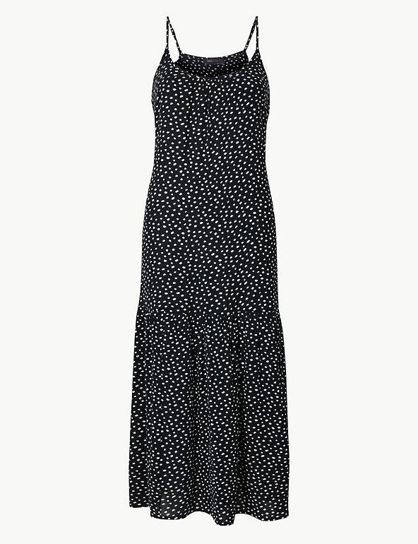 88a360dd5be9 Polka Dot Slip Midi Dress   M&S Collection   M&S