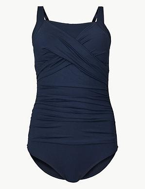 092a3891539 Post Surgery Secret Slimming™ Bandeau Swimsuit | M&S Collection | M&S