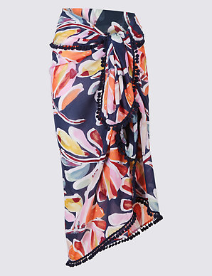 Trend Mark Sarong Patterned Other Women's Clothing