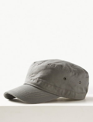 a6da878d Pure Cotton Baseball Cap with Stormwear™ | M&S Collection | M&S