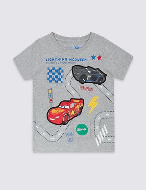 Pure Cotton Disney Cars T-Shirt (1-5 Years)