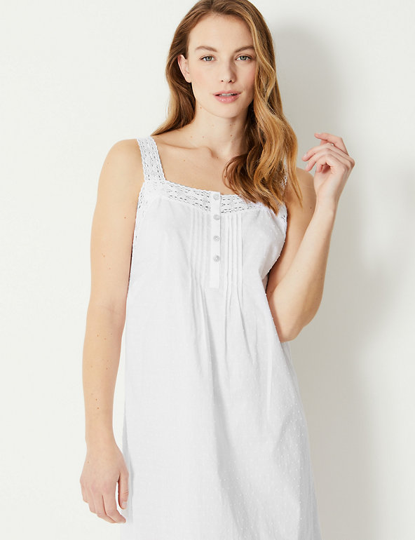 Pure Cotton Dobby Chemise