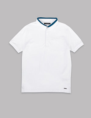 b190deca19 Pure Cotton Polo Shirt (3-16 Years)