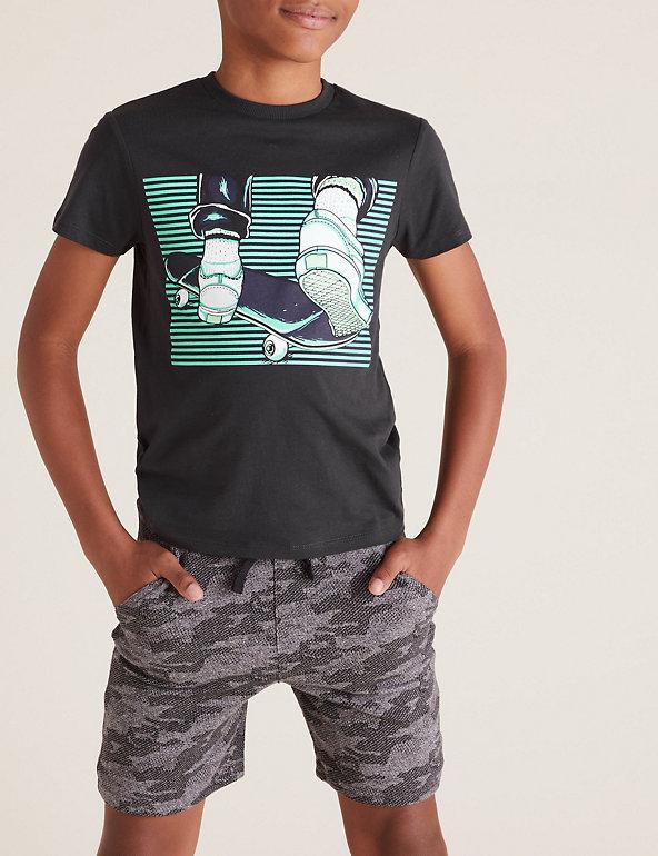 Kids Skate 3 Gaming T Shirt Noir