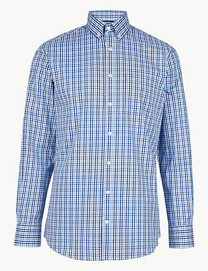 903f92bdb Pure Cotton Tailored Fit Oxford Shirt
