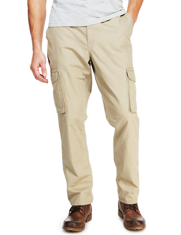 Ladies M/&S Collection Size 20 Regular Cargo Trousers