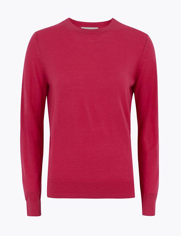 Pure Merino Wool Crew Neck Jumper | M&S Collection | M&S